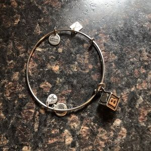 Alex & Ani Bangle - Baby Block